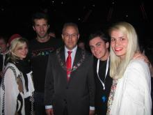 photo of Delegation of LGBTQ athletes at EuroGames 2011 with Mayor of Rotterdam